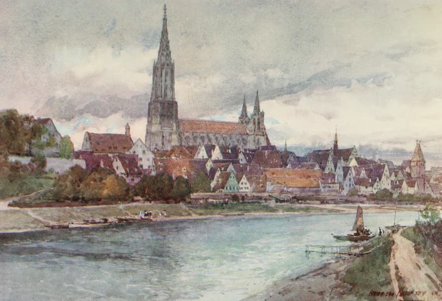 Germany, Painted and Described - Ulm (1912)