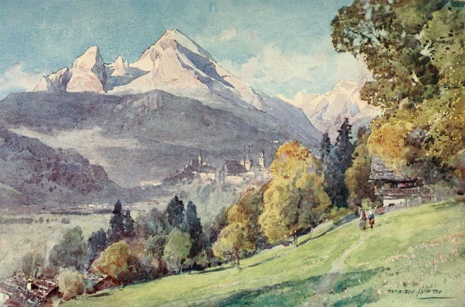 Germany, Painted and Described - Berchtesgaden (1912)