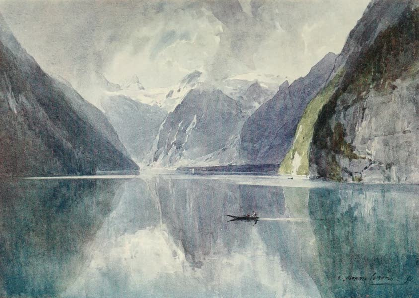 Germany, Painted and Described - Konigsee (1912)