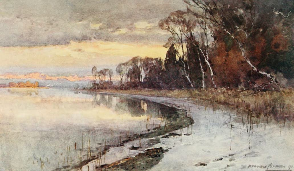 Germany, Painted and Described - Starnberger See (1912)