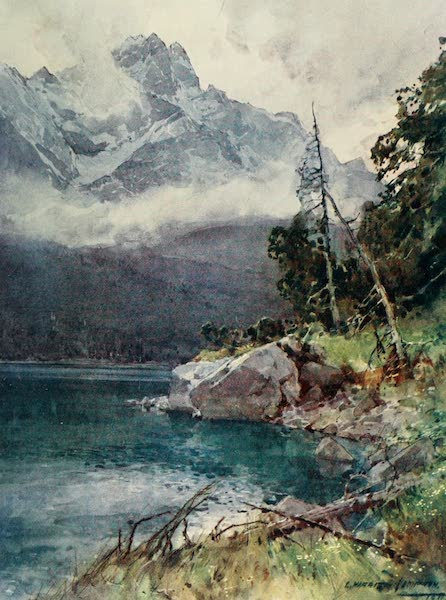 Germany, Painted and Described - Eibsee (1912)