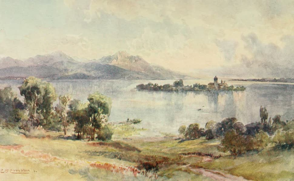 Germany, Painted and Described - Chiemsee - Frauen Insel (1912)