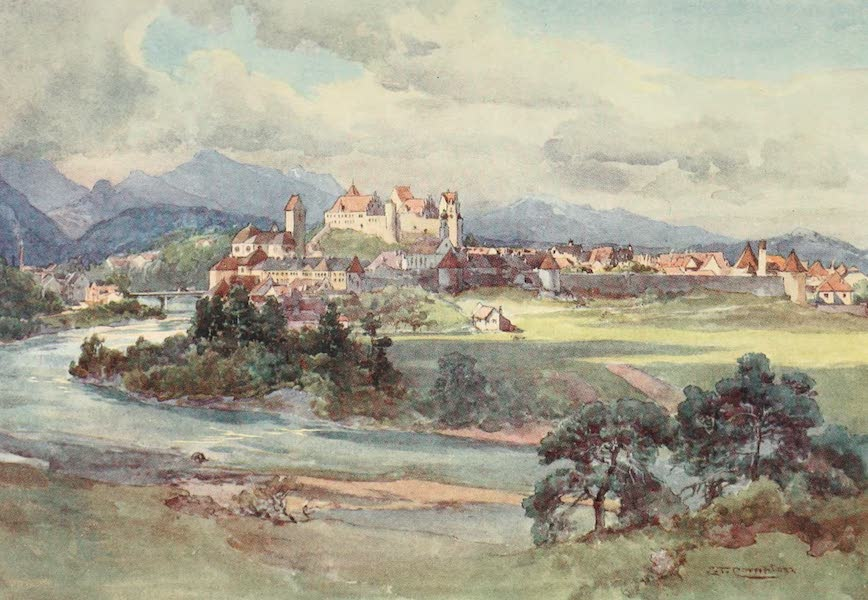 Germany, Painted and Described - Fussen (1912)