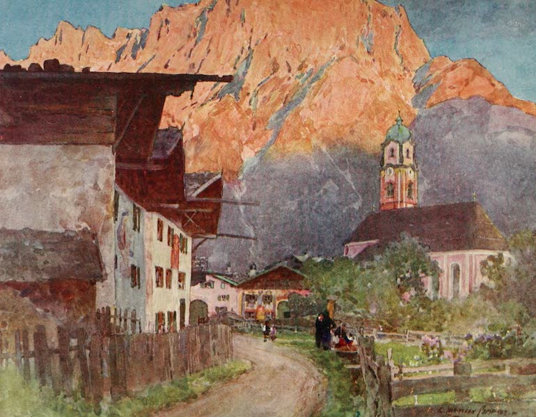Germany, Painted and Described - Mittenwald (1912)