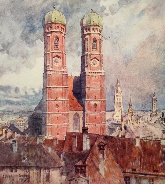 Germany, Painted and Described - Munich - the Cathedral (1912)