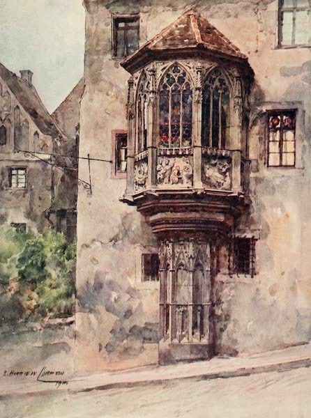 Germany, Painted and Described - A Bay-Window at Nuremberg (1912)