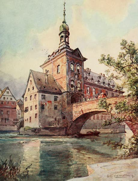 Germany, Painted and Described - Bamberg - Town Hall (1912)