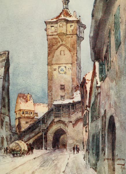 Germany, Painted and Described - Rothenburg [II] (1912)