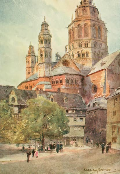 Germany, Painted and Described - Mayence - Cathedral (1912)