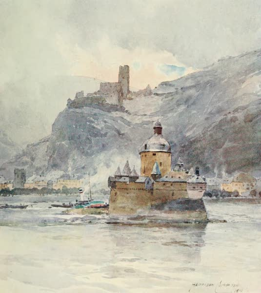 Germany, Painted and Described - Kaub and Palatine Castle (1912)