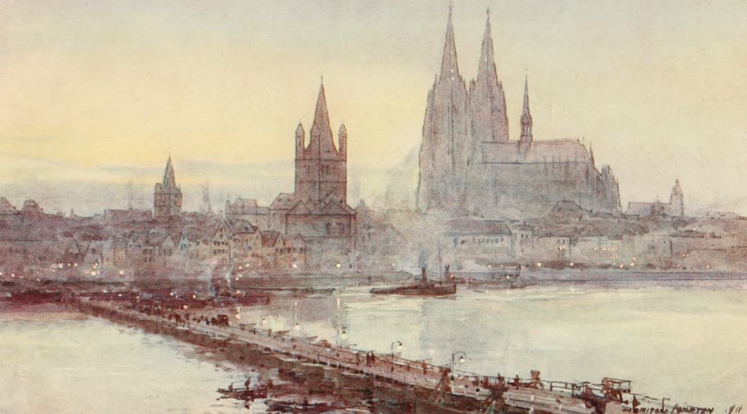 Germany, Painted and Described - Cologne (1912)