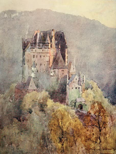 Germany, Painted and Described - Castle of Eltz (1912)