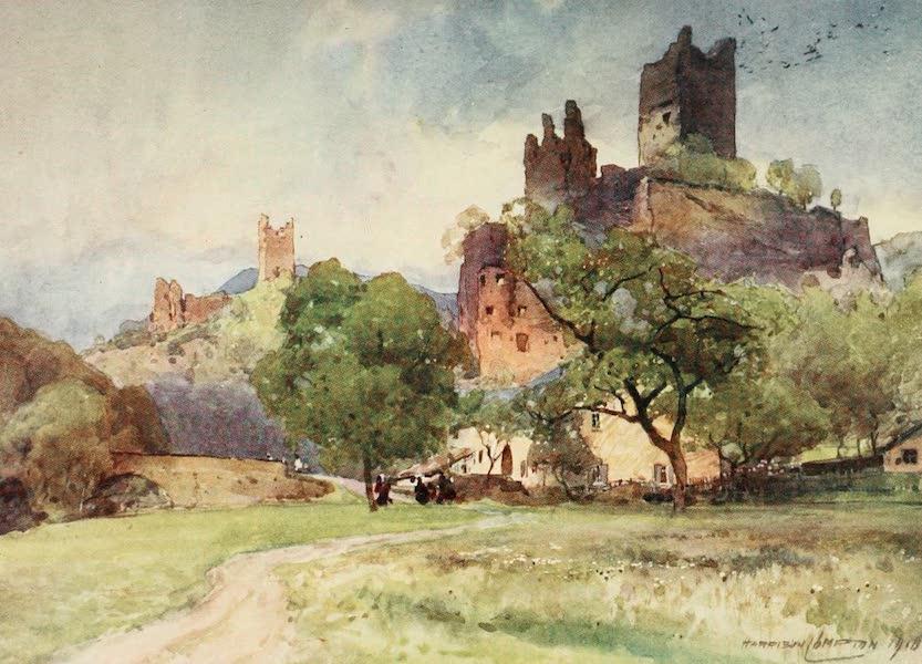 Germany, Painted and Described - Ruins at Mandersheid (1912)