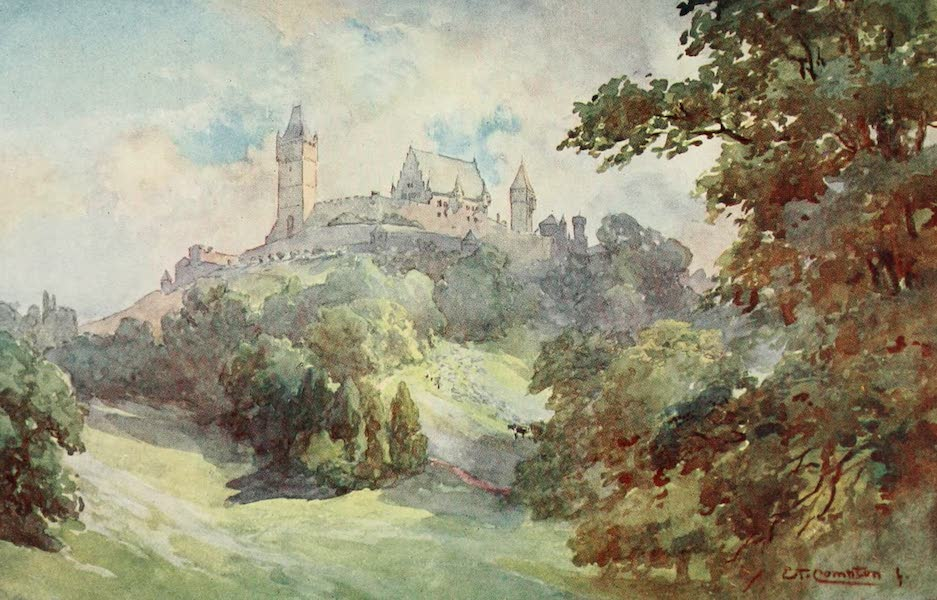 Germany, Painted and Described - Coburg - Ducal Castle and Park (1912)