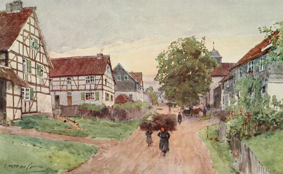 Germany, Painted and Described - A Thuringian Village (1912)