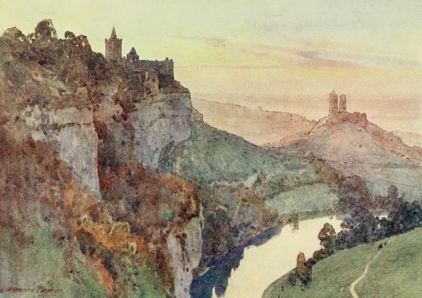 Germany, Painted and Described - Rudelsburg and Saaleck (1912)