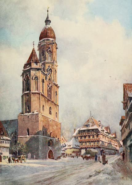 Germany, Painted and Described - Brunswick - St. Andreas and Alte Wage (1912)