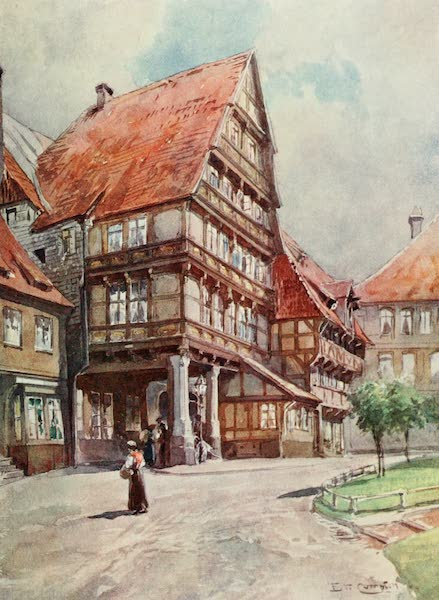 Germany, Painted and Described - Hildesheim (1912)