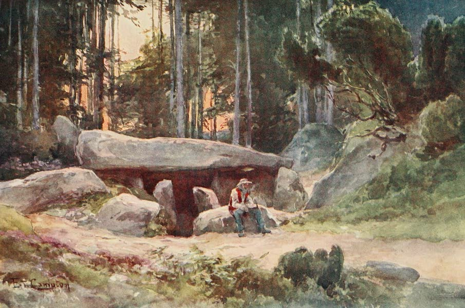 Germany, Painted and Described - Dolmen in the Luneburger Haide (1912)