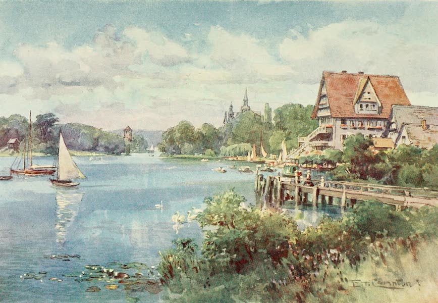 Germany, Painted and Described - Kleiner Wannsee, near Berlin (1912)