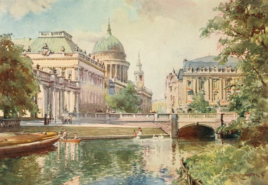 Germany, Painted and Described - Potsdam - Imperial Palace (1912)