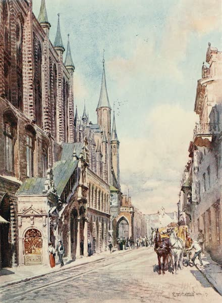 Germany, Painted and Described - Lubeck - the Town Hall (1912)
