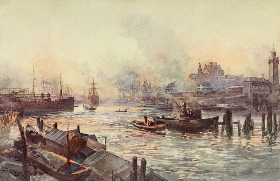 Germany, Painted and Described - Hamburg (1912)
