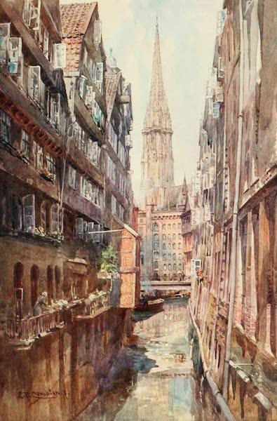 Germany, Painted and Described - Hamburg - Steckelbornfleth, Nicolai-Kirche (1912)