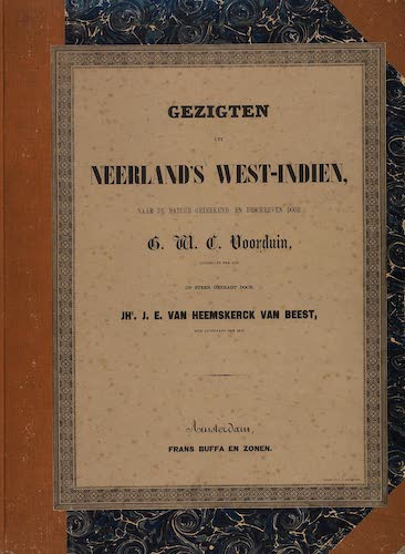 Aquatint & Lithography - Gezigten uit Neerland's West-Indien