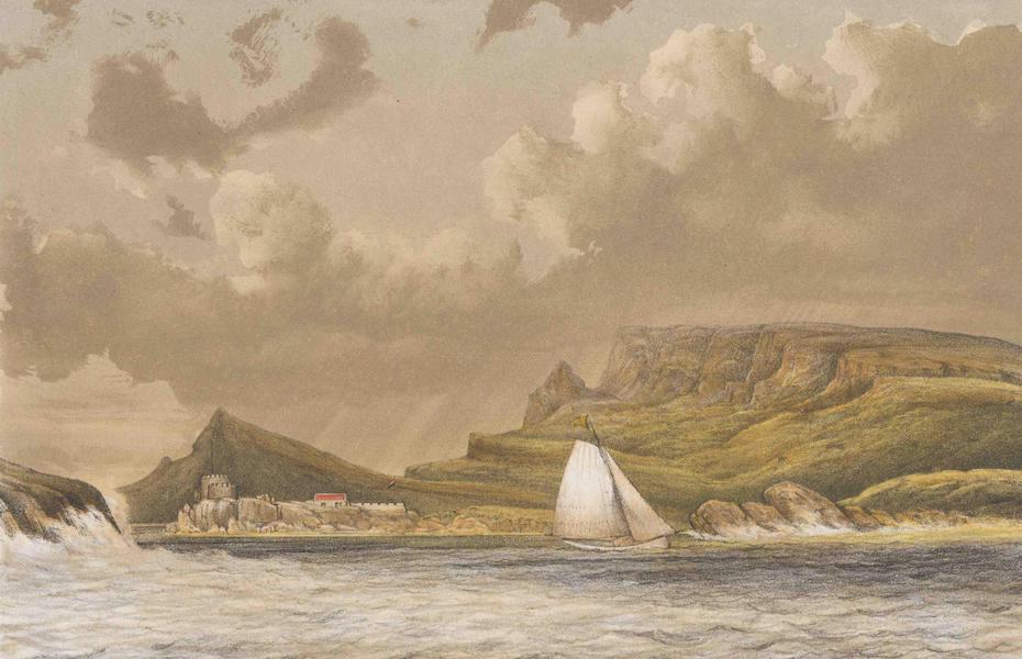 Gezigten uit Neerland's West-Indien - Curaçao - Caracas Baai (1860)