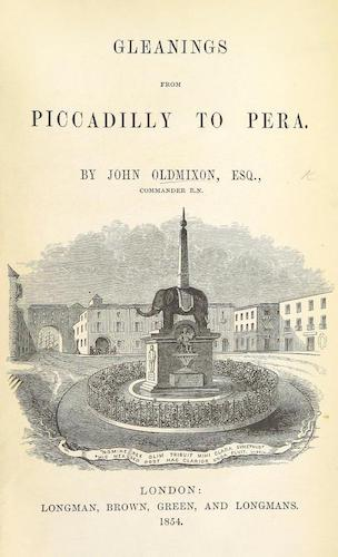 Aquatint & Lithography - Gleanings from Piccadilly to Pera