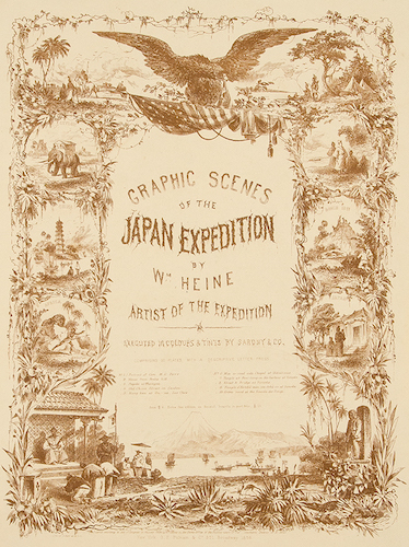 Aquatint & Lithography - Graphic Scenes of the Japan Expedition
