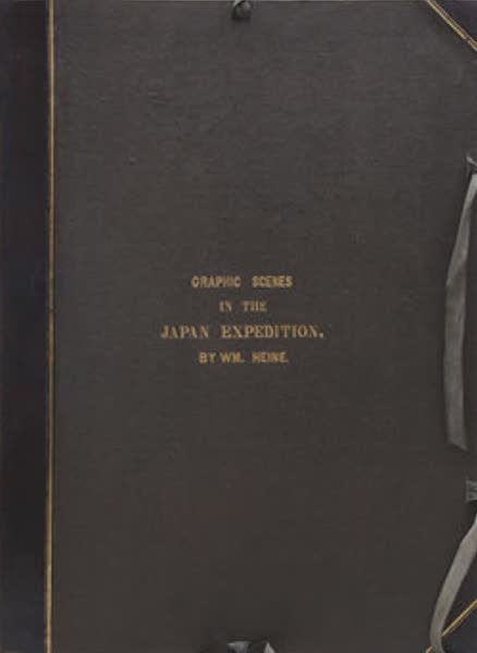 Graphic Scenes of the Japan Expedition - Front Cover (1856)