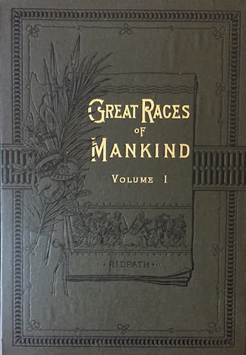 Aquatint & Lithography - Great Races of Mankind Vol. 1