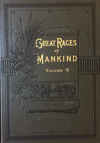 Aquatint & Lithography - Great Races of Mankind Vol. 4