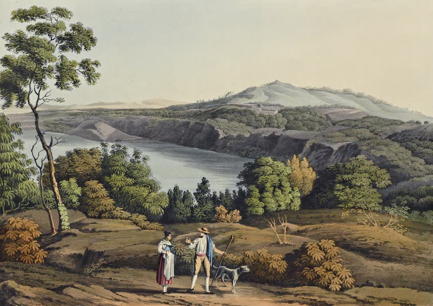 Grecian Remains in Italy - Lake of Albano (2nd View) (1812)