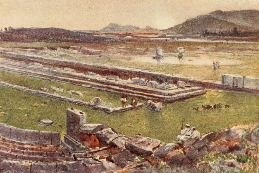 Greece Painted and Described - Megalopolis in Arcadia (1906)