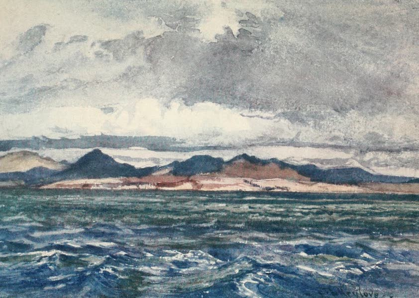 Greece Painted and Described - Off Cape Matapan (1906)