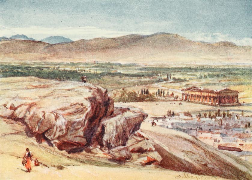 Greece Painted and Described - The Areopagus and the Theseum (1906)