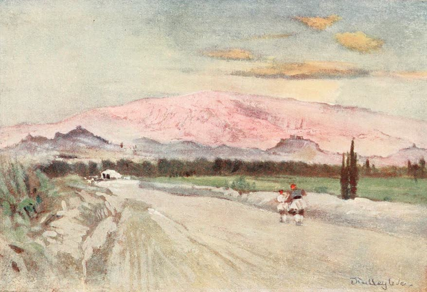 Greece Painted and Described - Athens from the Road to Eleusis (1906)