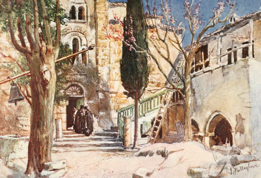 Greece Painted and Described - Convent of Daphni (1906)