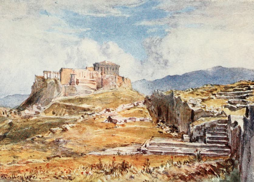 Greece Painted and Described - The Pnyx ; or Place of Assembly of the People (1906)