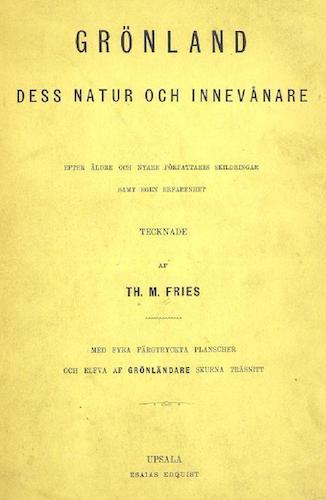 Aquatint & Lithography - Gronland, dess Natur och Innevanare
