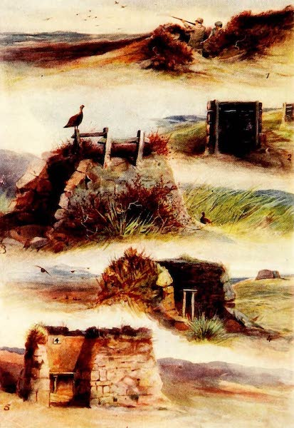 Grouse and Grouse Moors - Butts (1910)