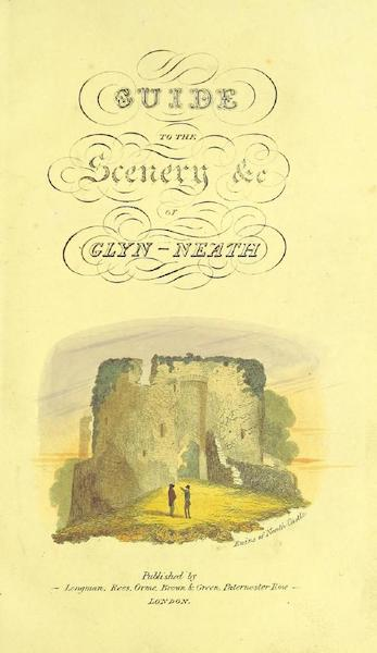 Guide to the Beauties of Glyn Neath - Illustrated Title Page (1835)