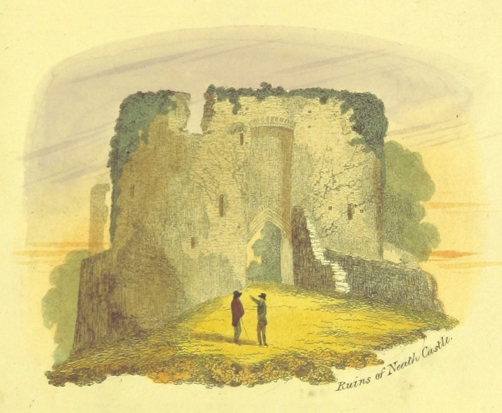Guide to the Beauties of Glyn Neath - Ruins of Neath Castle (1835)