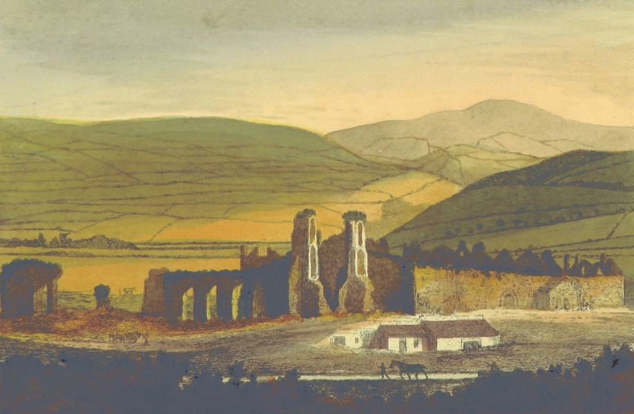 Guide to the Beauties of Glyn Neath - Abbey Ruins (1835)