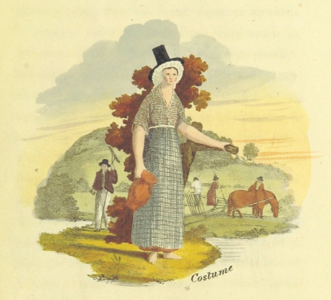 Guide to the Beauties of Glyn Neath - Glyn Neath Costume (1835)