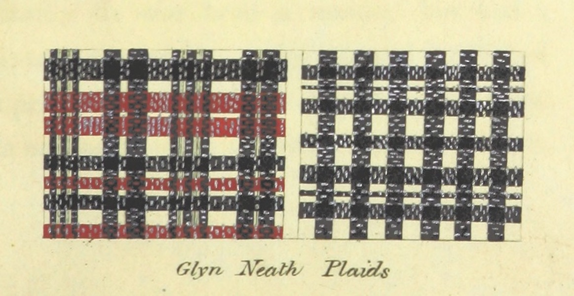 Guide to the Beauties of Glyn Neath - Glyn Neath Plaids (1835)