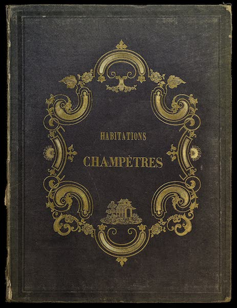 Habitations Champetres Vol. 1 - Front Cover (1848)